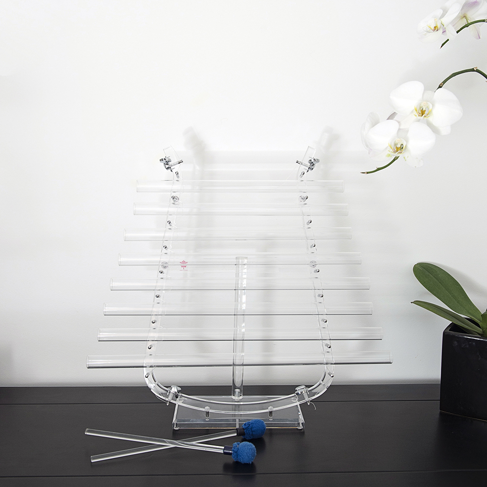 Clear Quartz Crystal Lyre