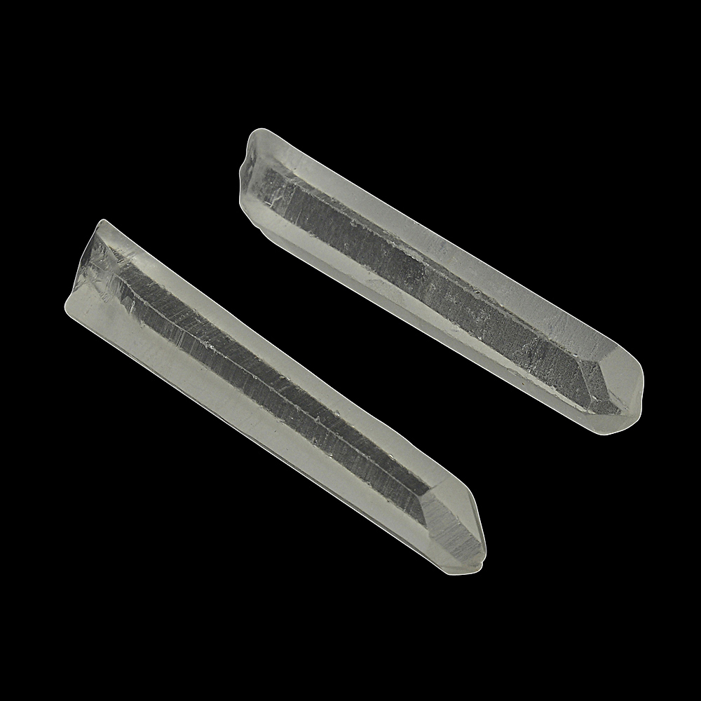 Clear Quartz Points With Memory