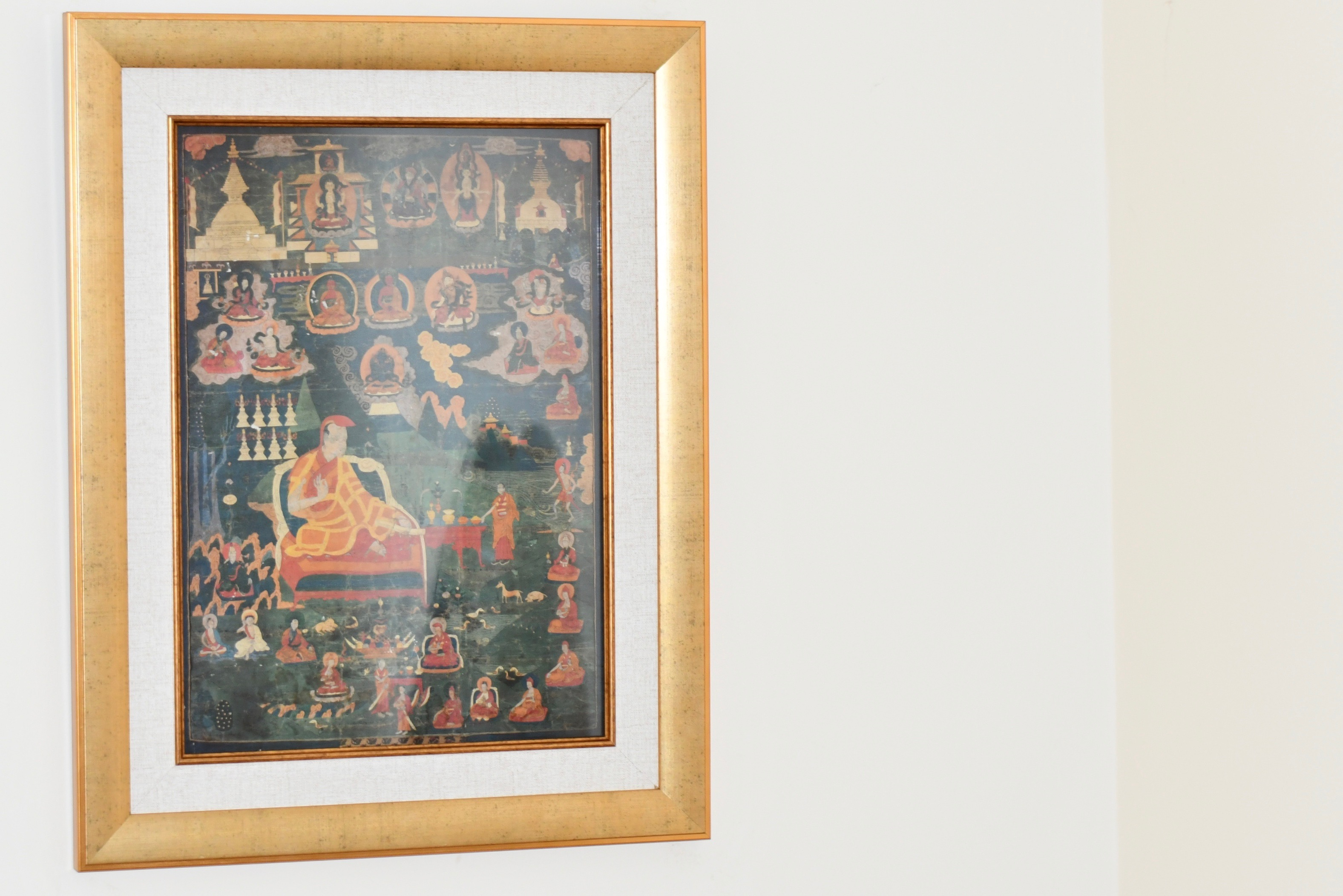Atisha Buddhist Print