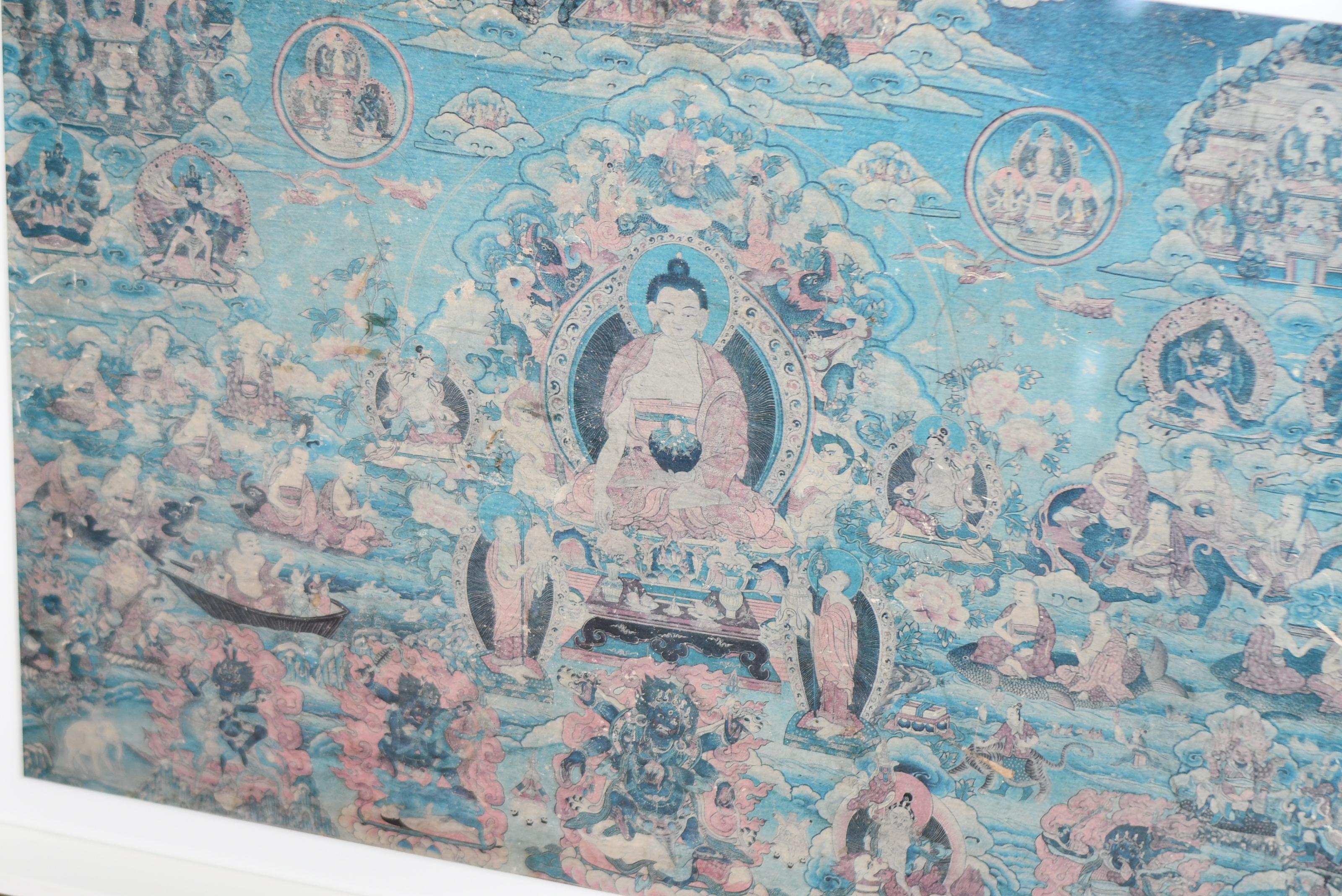 Universal Buddha In The Ocean Of Samsara