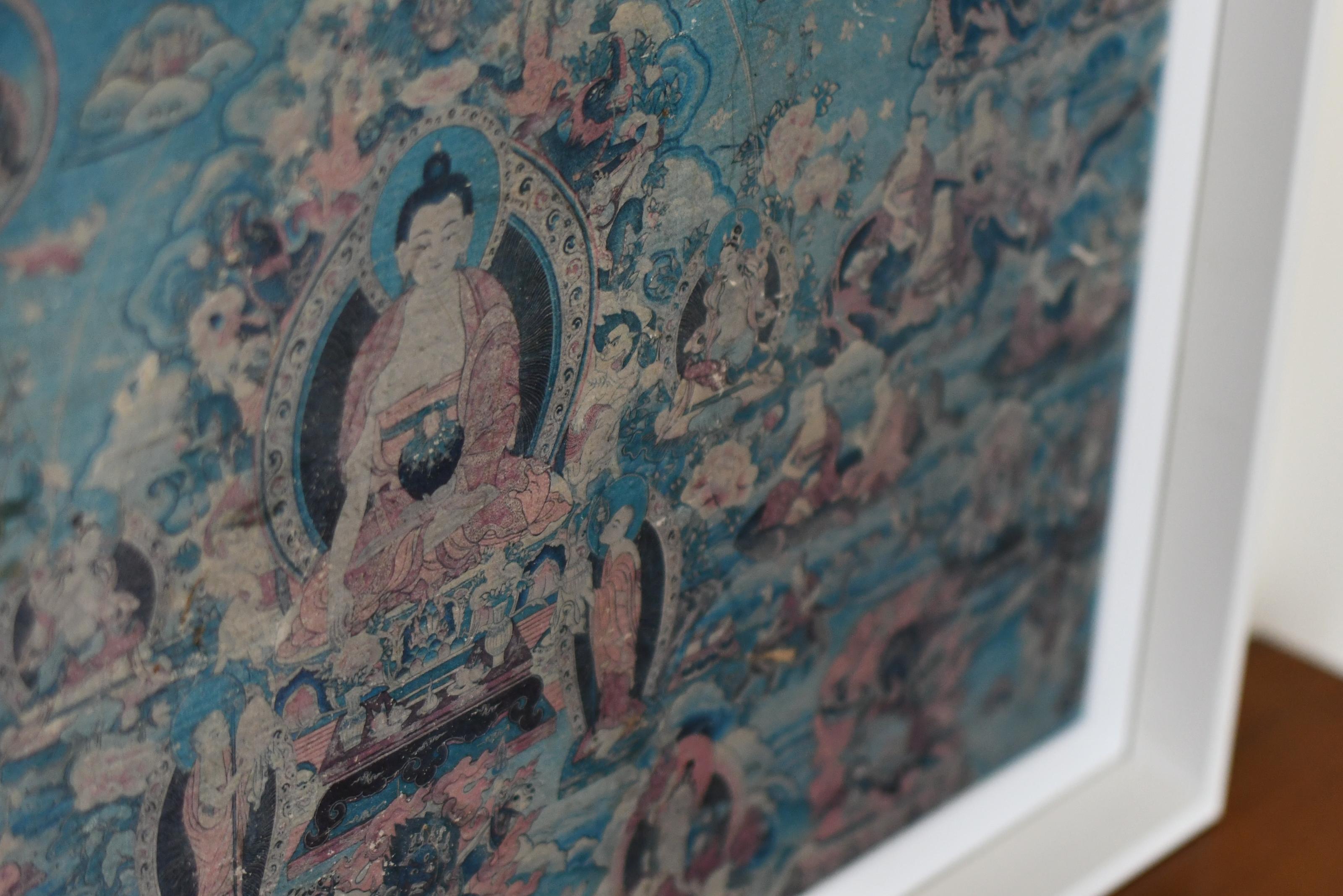 Framed Buddha Lineage